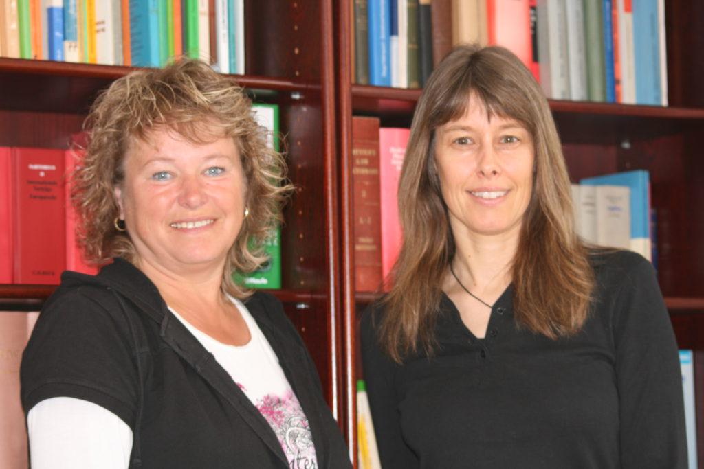 Mitarbeiterinnen der Rechtsanwaltskanzlei